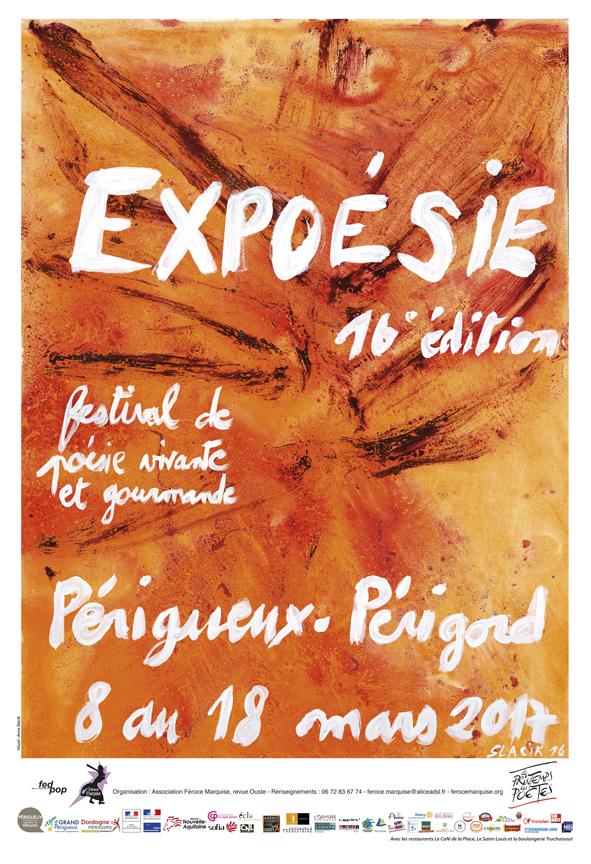 Affiche Expoésie 2017