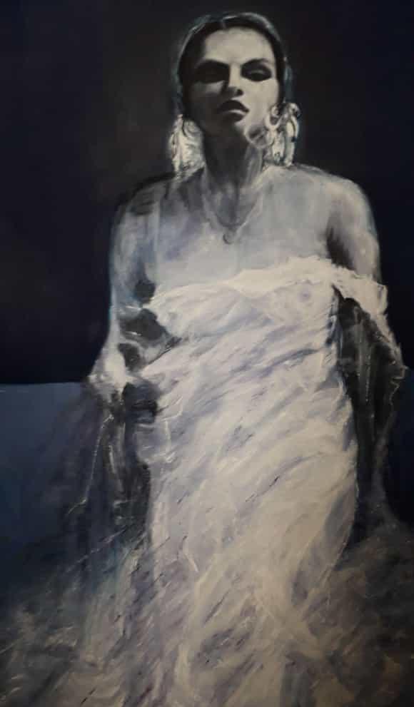 Lise BUGNON - La Dame Bleue.